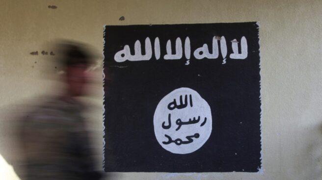 Bandera del grupo terrorista Estado Islámico.