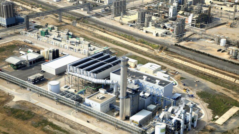 Una central de ciclo combinado en Tarragona.