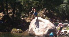 Muere un joven tras golpearse la cabeza con piedras en una piscina natural