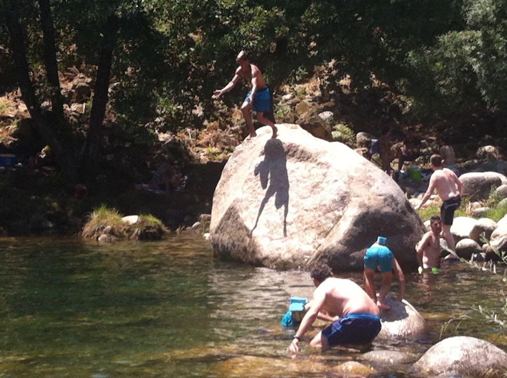 La vera es una de las comarcas de España con más charcas o piscinas naturales.