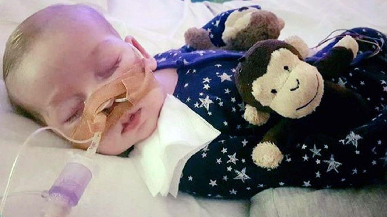 Charlie Gard, el niño británico con una enfermedad terminal.