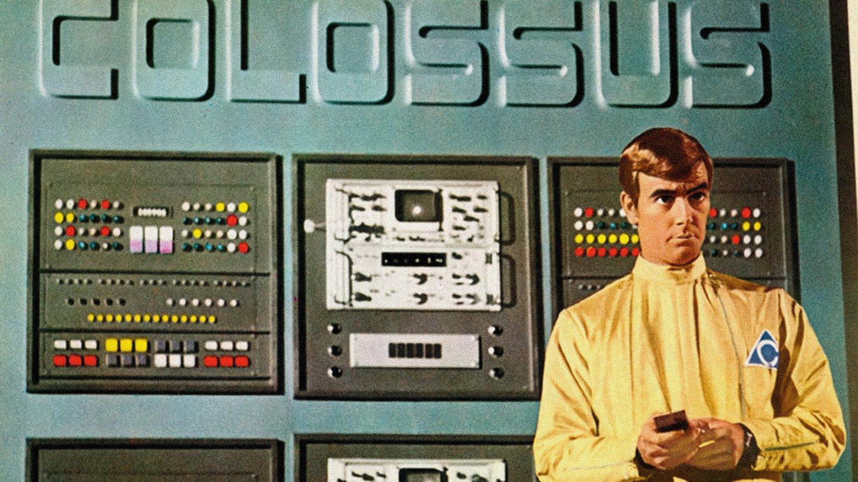 Fotograma de la película 'Colossus'