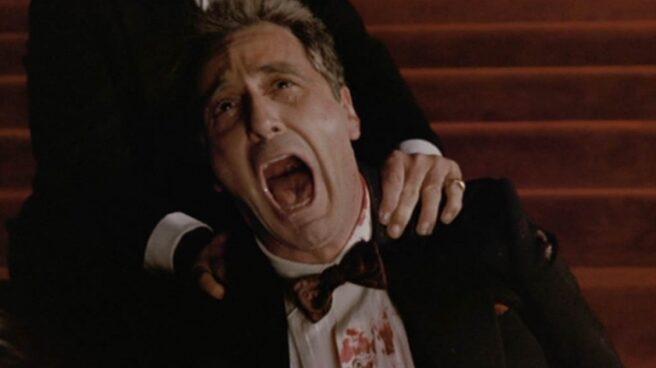 El grito de Corleone tras la muerte de su hija.