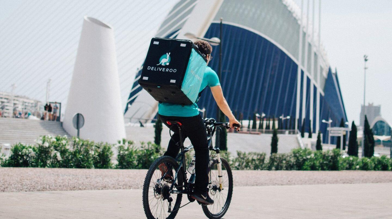 'Rider' de Deliveroo
