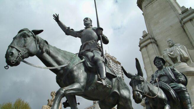 Don Quijote en plaza de España