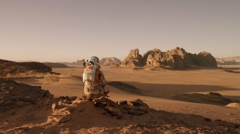 Escena de Marte (The Martian)