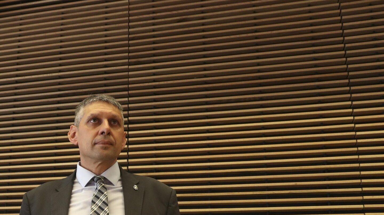 El inspector jefe José Ángel Fuentes Gago, en el Congreso de los Diputados.