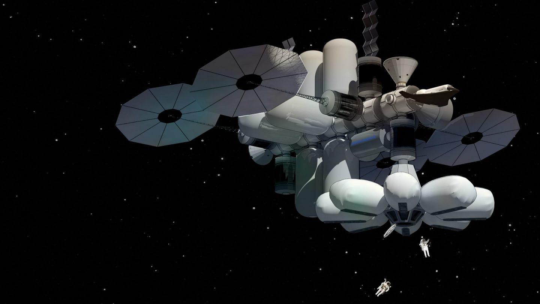 MARINA, un hotel en el espacio