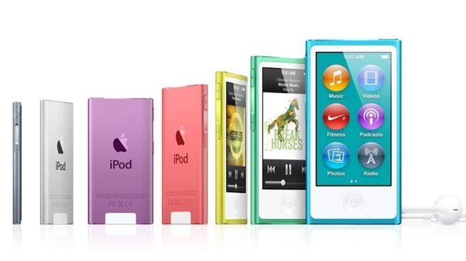 Apple elimina el iPod Nano y el Shuffle.