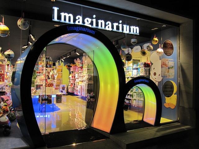 Escaparate de una tienda de Imaginarium. La juguetera española ha alcanzado un acuerdo con los acreedores para eludir la quiebra.