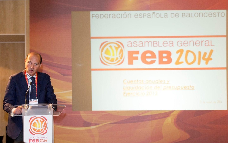 Luis Giménez era el secretario general-director económico y es uno de los imputados en el 'caso FEB'.'