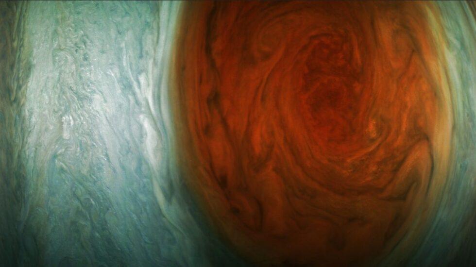 La gran mancha de Júpiter