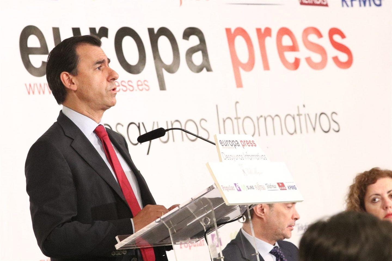 Fernando Martínez Maillo, en un desayuno informativo.