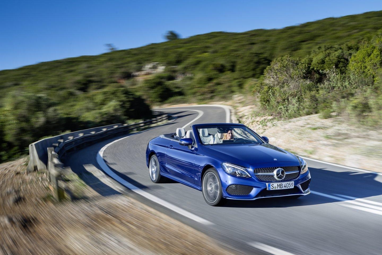 Vehículo Mercedes Benz Clase C Cabrio.