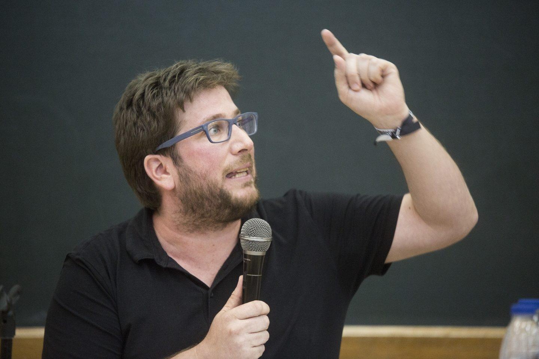 Miguel Urbán, eurodiputado y líder de la corriente Anticapitalista de Podemos.