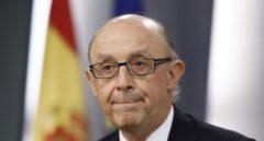 El ministro de Hacienda, Cristóbal Montoro, anunció la oferta de empleo público extraordinaria.
