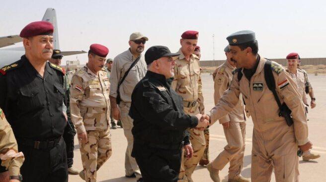 El primer ministro iraquí, Haider al Abadi, declara la victoria en Mosul