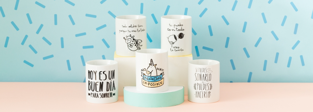Tazas de Mr. Wonderful.