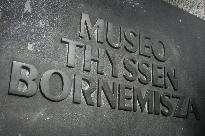 El Museo Thyssen de Madrid.