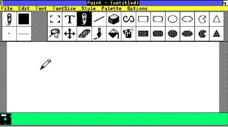 MS Paint en Windows 1.0