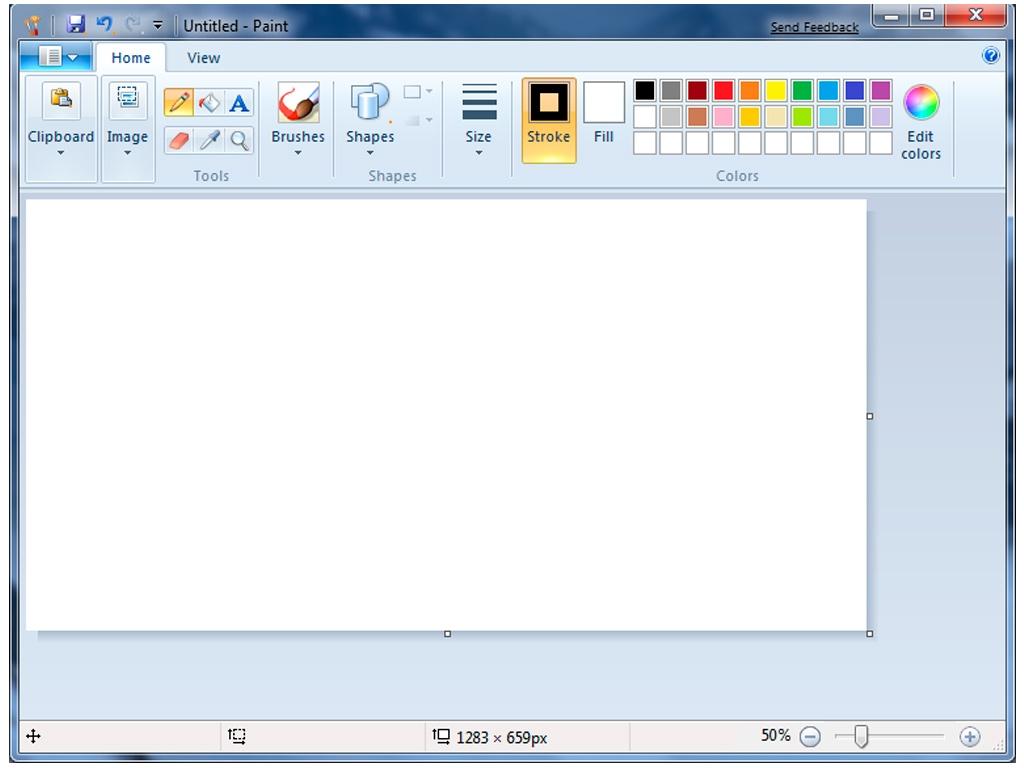 MS Paint en Windows 7
