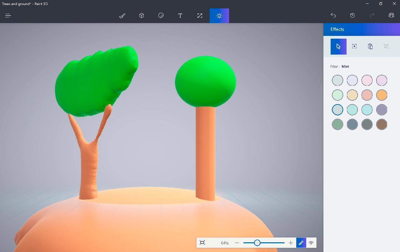 Paint 3D en Windows 10
