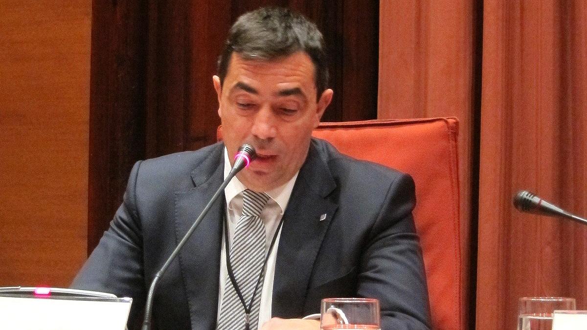 Pere Soler Campins, ex director de los Mossos d'Esquadra.