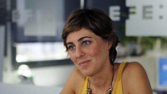 Lorena Ruiz-Huerta, portavoz de Podemos en Madrid, habla sobre Íñigo Errejón.