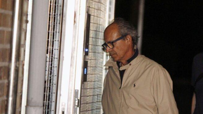Edmundo Rodríguez Sobrino, tras su detención por la Guardia Civil en el marco de la 'operación Lezo'.