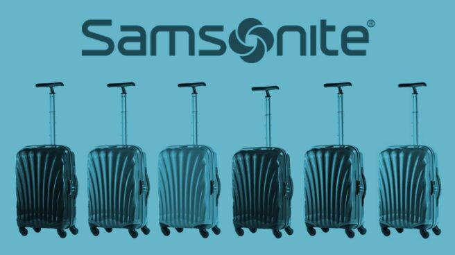 Colección de maletas Samsonite.