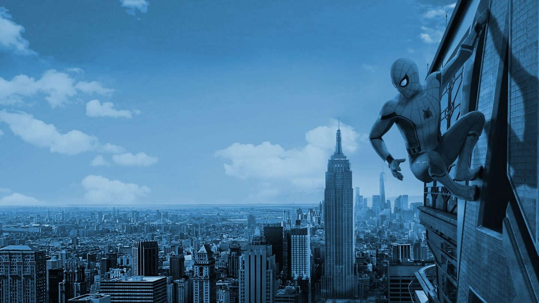 """Cartel de la película """"Spiderman: Homecoming""""."""
