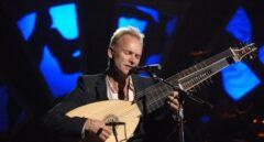 El cantante Sting.