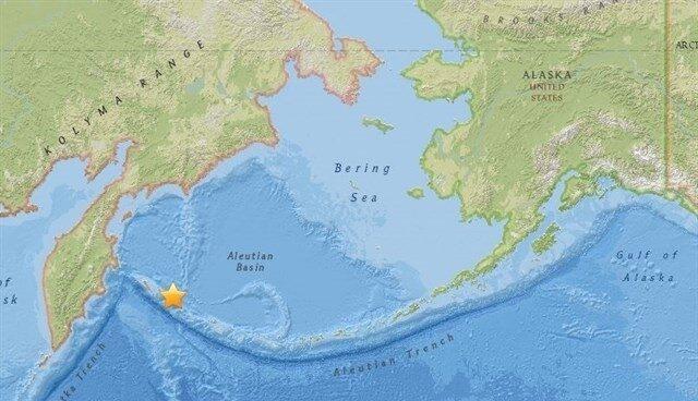 Un terremoto de 7,8 grados sacude la costa de Rusia.