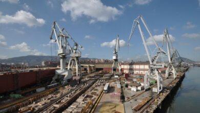 La Naval, el centenario astillero de Sestao, en concurso de acreedores