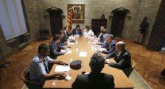 Gabinete de crisis tras el atentado en Barcelona.