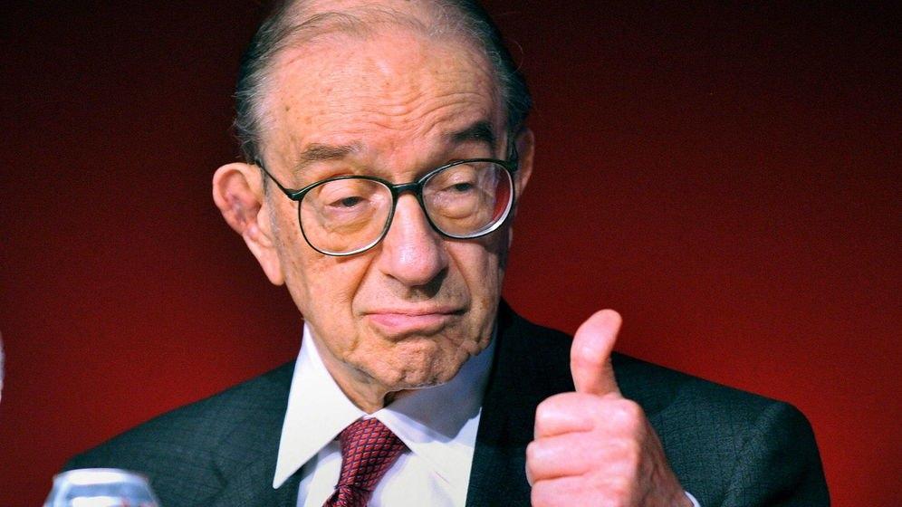 Alan Greenspan, expresidente de la Reserva Federal de Estados Unidos.