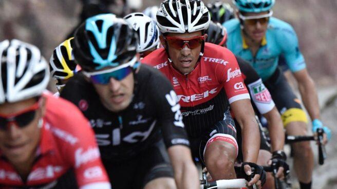 Alberto Contador anuncia su retirada en la Vuelta a España.