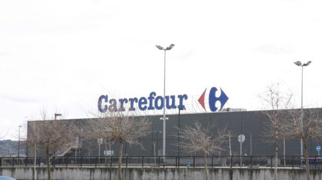 Carrefour sufre en bolsa por sus débiles resultados.