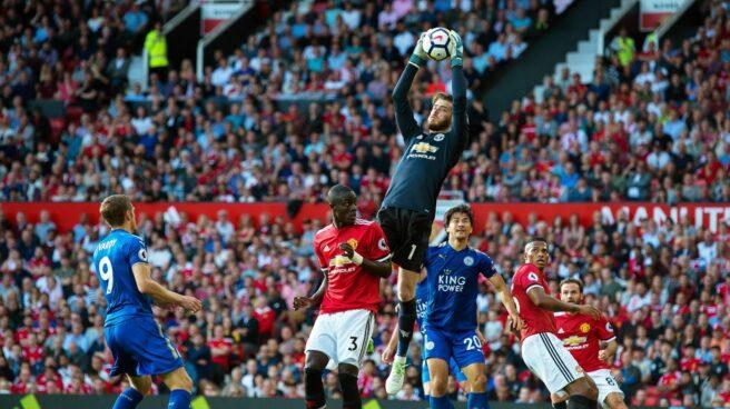 David de Gea, en un reciente partido con el Manchester United.