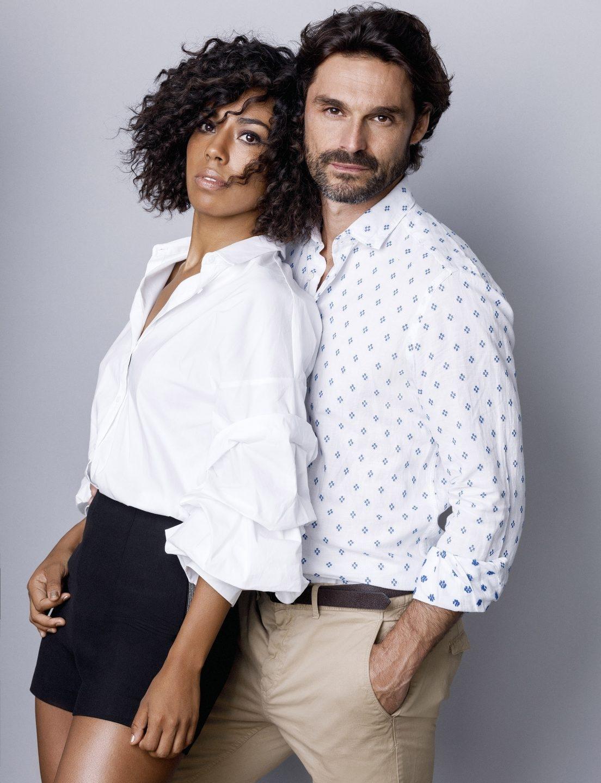 Fela Domínguez e Iván Sánchez