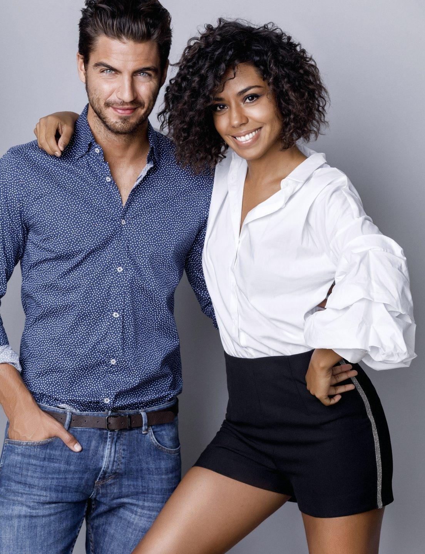 Fela Domínguez y Maxi Iglesias.