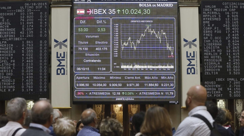 El Ibex cae a mínimos de cinco meses ante la tensión geopolítica.