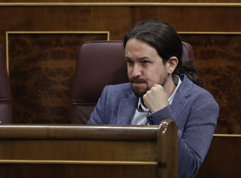 Pablo Iglesias, en el debate de Gürtel.