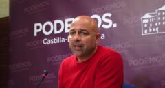 José García Molina, líder de Podemos Castilla-La Mancha.