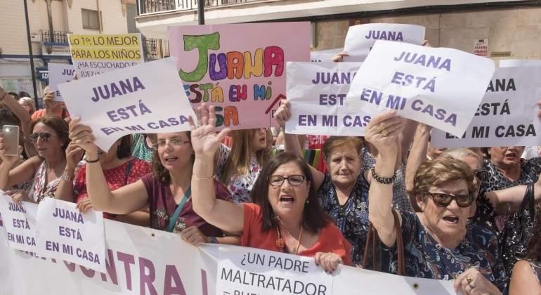 Convocadas manifestaciones de apoyo a Juana Rivas en toda España.