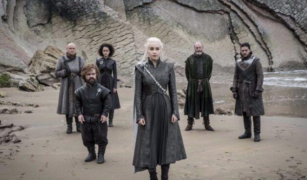 Fotograma de uno de los últimos episodios de la serie Juego de Tronos.