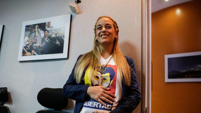Lilian Tintori, este martes en Caracas.