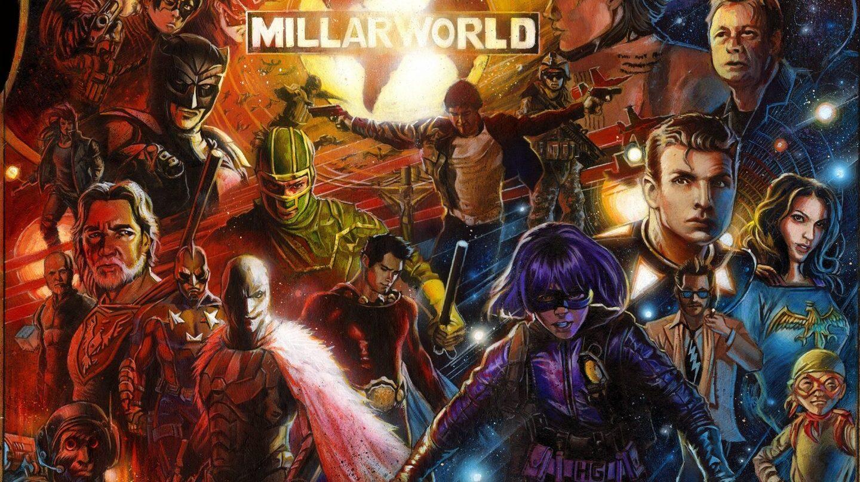Netflix compra la editora de cómics Millarworld.