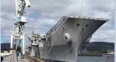 El portaaviones Príncipe de Asturias pone rumbo a Turquía para su desguace