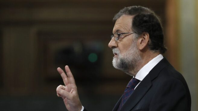Mariano Rajoy, en el Congreso en el pleno de Gürtel.
